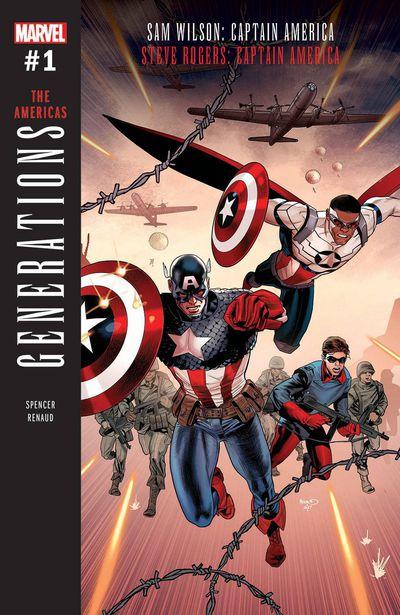 Generations Captain Americas #1