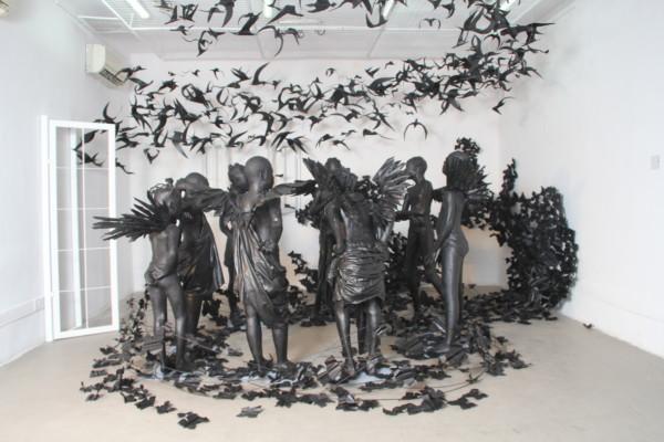 """""""Flying Girls"""", by Peju Alatise"""