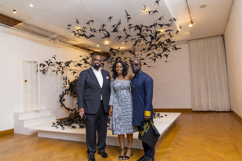 Olu Akpata, Adenrele Sonariwo & Edmund Olotu