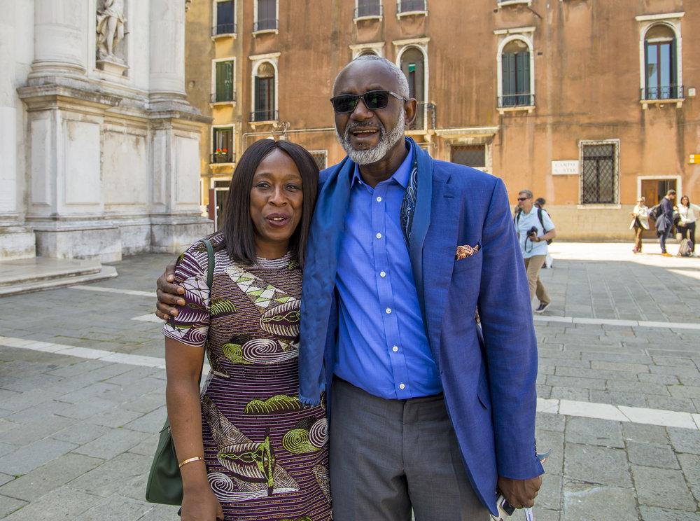 Yvonne Fasinro & Gbenga Oyebode