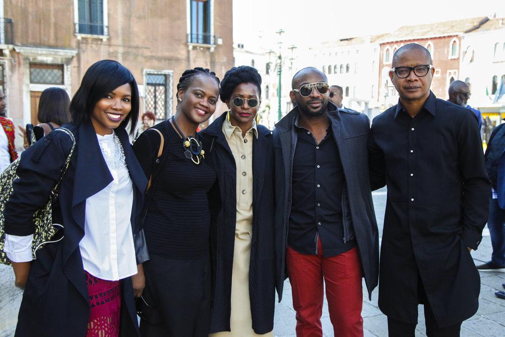 Tokini Peterside, Bimpe Nkontchou, Dundun Peterside, Seyi Ajibola & Victor Ehikhamenor.jpg