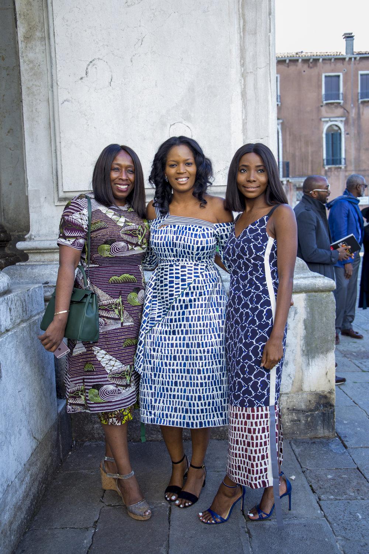 Yvonne Fasinro, Adenrele Sonariwo & Bidemi Zakariyau