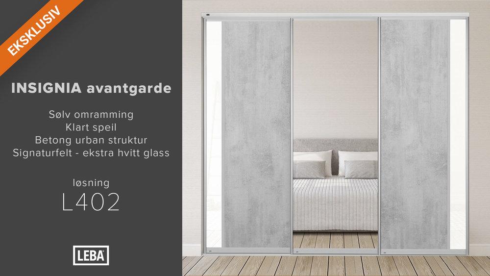 L402-3D-LEBA-Avantgarde-Sølv-Klart-speil-Betong-struktur-Hvitt-glass-signatur-felt.jpg