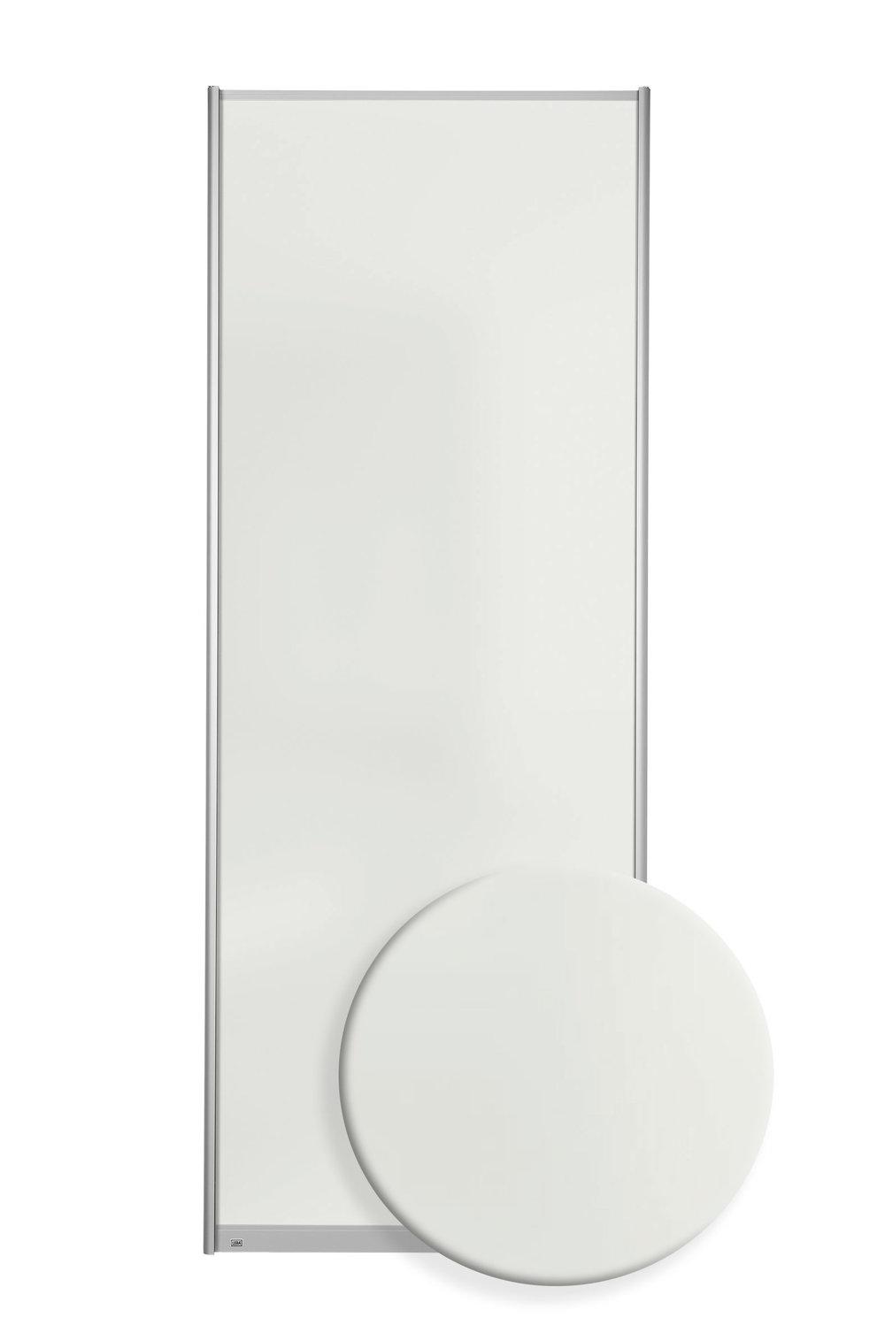 F7601 - Ekstra hvitt satinert glass