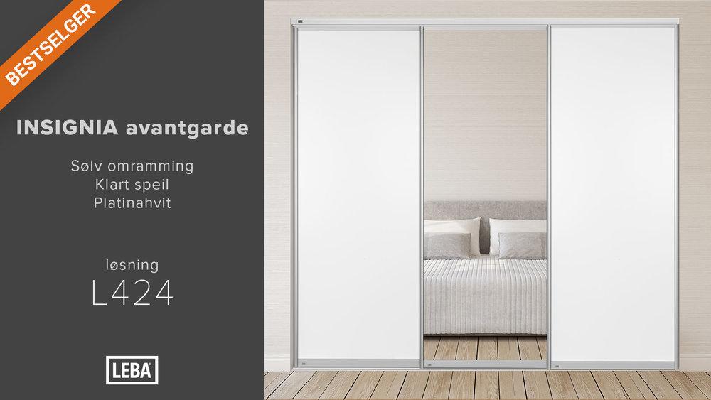 L424-3D-LEBA-Avantgarde-Sølv-Klart-speil-Platinahvit.jpg.jpg
