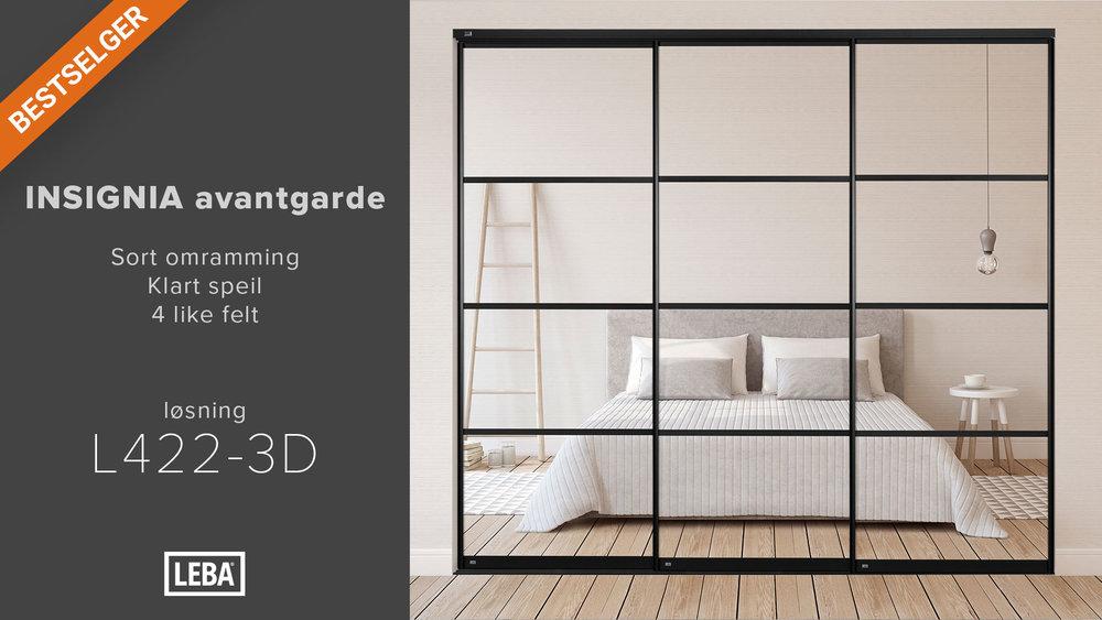 L422-3D-LEBA-Avantgarde-Sort-Klart-speil-3-Sprosser.jpg