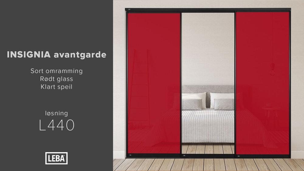 L440-3D-LEBA-Avantgarde-Sort-Rødt-Glass-Klart-speil.jpg