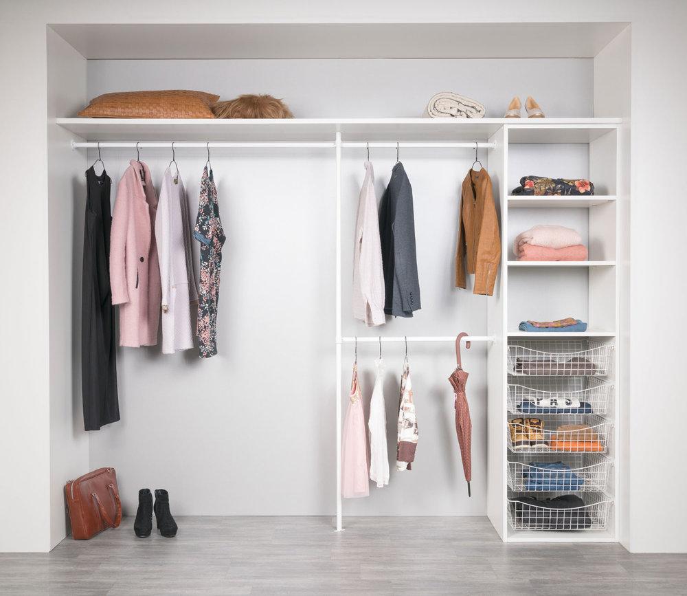 Innredning Garderobe. Trendy Innredning Entre Jutzler Utvendig Stang Innredning Garderobe Og ...