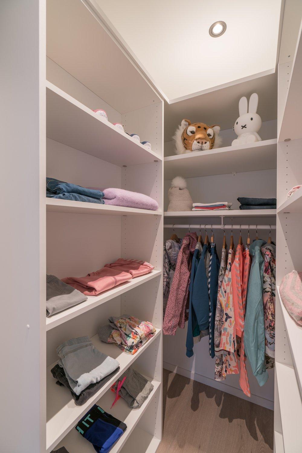 Barnas garderobe