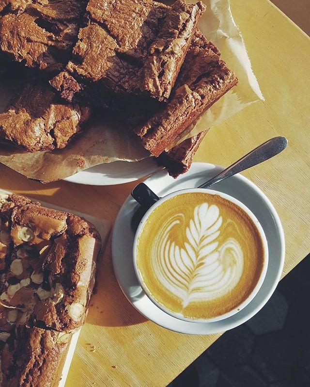 coffee and brownies ☕️