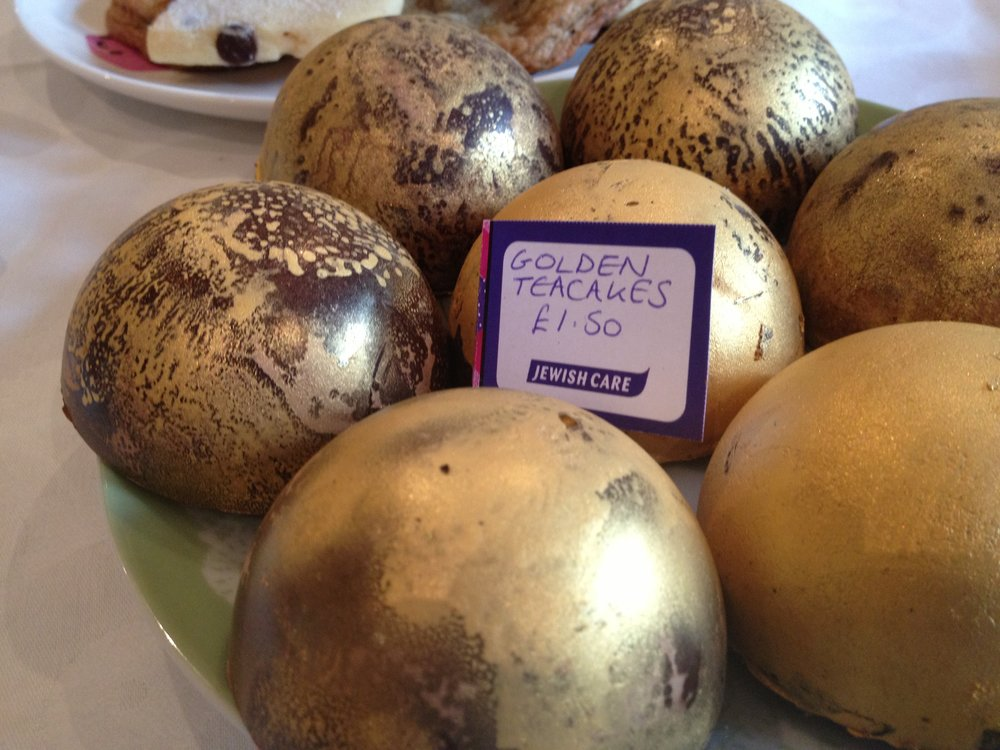 Golden Teacakes