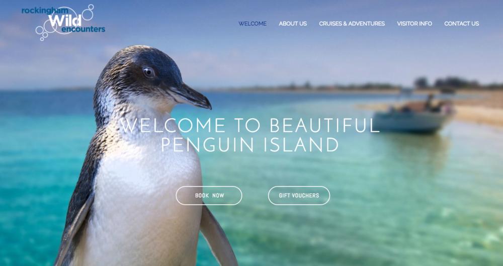Penguin Island Rockingham Wild Encounters  www.penguinisland.com.au