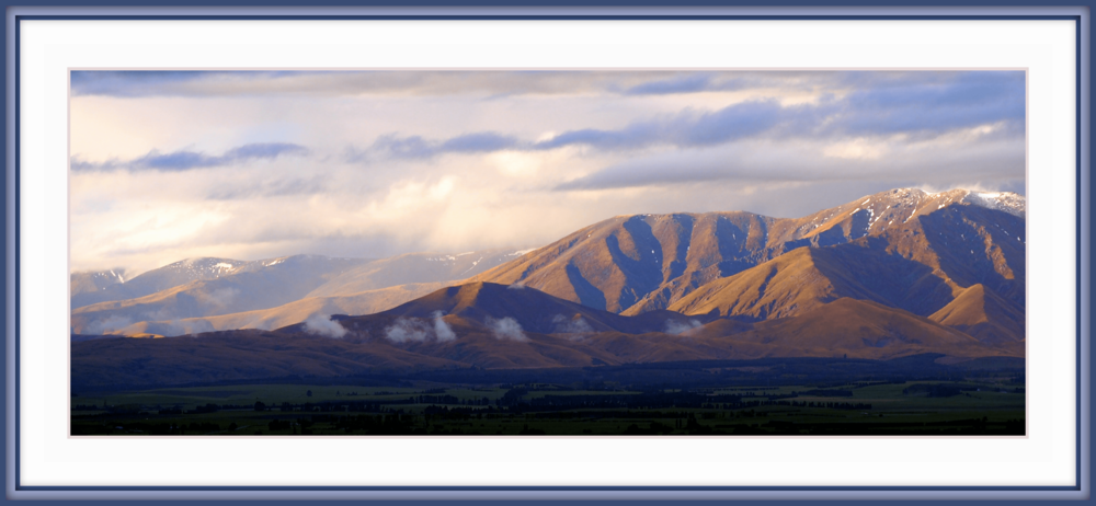 """Sibilance"" -  Hawkdun Range, Maniototo, Otago, first of the autumn evenings. Such big silences in this place."