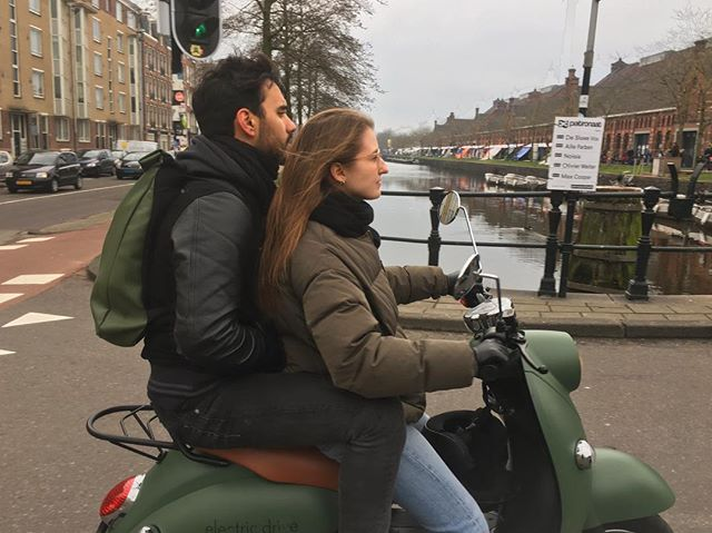 Easter weekend in Amsterdam 💚 #unuriders