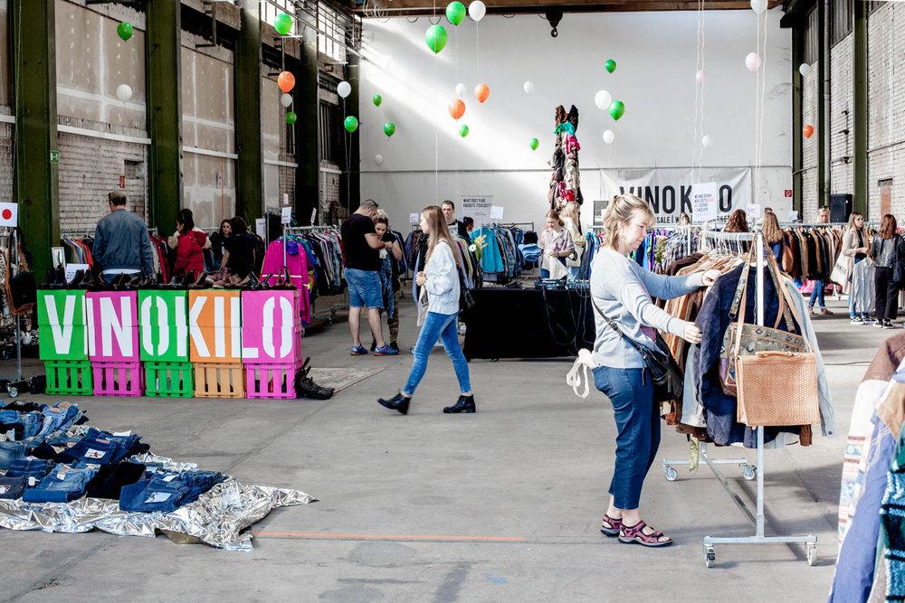VinoKilo ist Deutschlands größtes Pop-up Event für Second Hand Kleidung