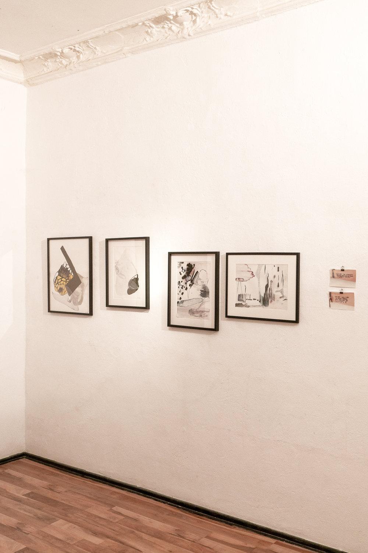"""Hannah Kori's """"The Stillness Is a Burn"""" exhibition at ReTramp Gallery, Berlin"""