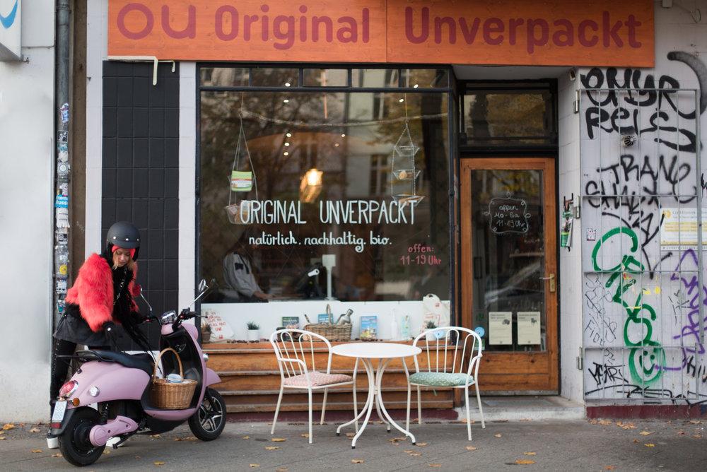 Caro bij Original Unverpackt in Berlijn