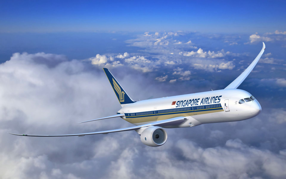 Singapore Airlines Limited is the flag carrier of Singapore with its hub at Singapore Changi Airport. The airline uses the Singapore Girl as its central figure in its corporate branding.