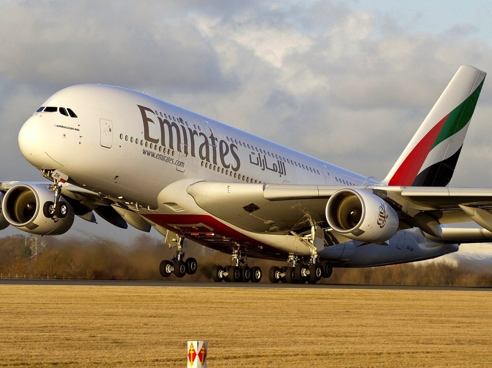 Emirates is an airline based in Dubai, United Arab Emirates. The airline is a subsidiary of The Emirates Group, which is wholly owned by the government of Dubai's Investment Corporation of Dubai.