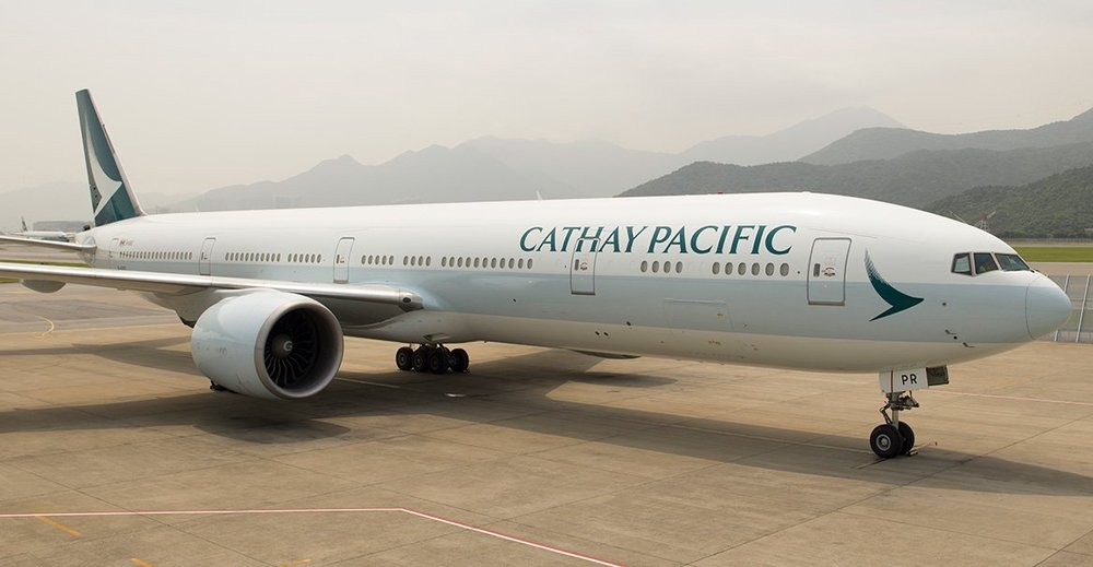 Cathay Pacific is the flag carrier of Hong Kong, with its head office and main hub located at Hong Kong International Airport.