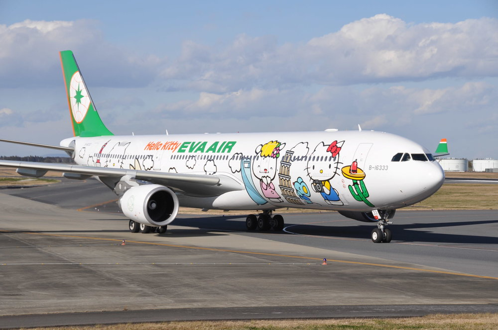 EVA Air Corporation is a Taiwanese international airline based at Taiwan Taoyuan International Airport near Taipei, Taiwan, operating passenger and dedicated cargo services to over 40 international airports.