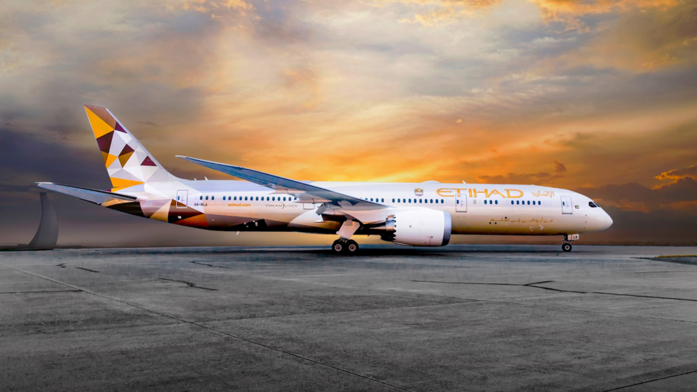 Etihad Airways is a flag carrier and the second-largest airline of the UAE. Its head office is in Khalifa City, Abu Dhabi, near Abu Dhabi International Airport. Etihad commenced operations in November 2003