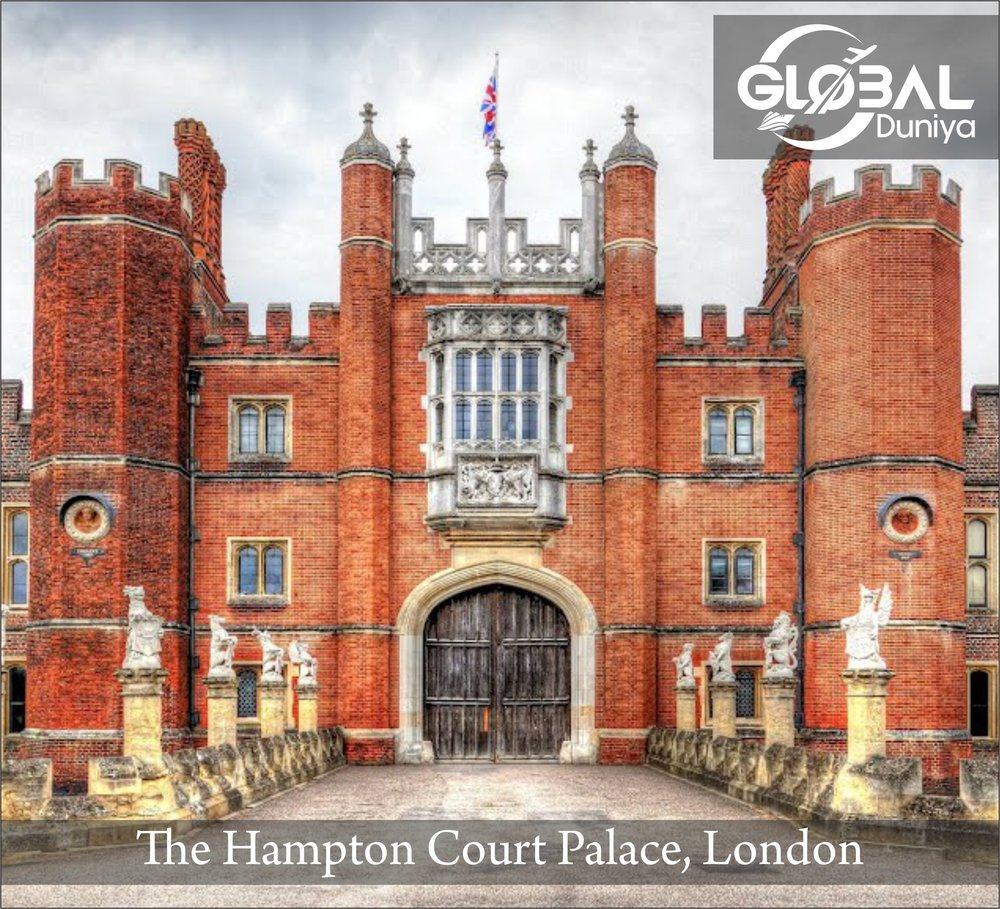 Another great Thames-side attraction, Hampton Court is one of Europe's most famous palaces. Its Great Hall dates from Henry VIII's time (two of his six wives supposedly haunt the palace), and it's where  Elizabeth I learned of the defeat of the Spanish Armada . Other interesting features include the Clock Court with its fascinating astronomical clock dating from 1540, the State Apartments with their Haunted Gallery, the Chapel, the King's Apartments and the Tudor tennis court. The gardens are also worth visiting - especially in mid-May when in full bloom - and include the Privy Garden, the Pond Garden, the Elizabethan Knot Garden, the Broad Walk, an area known as the Wilderness and, of course, the palace's famous  Maze .