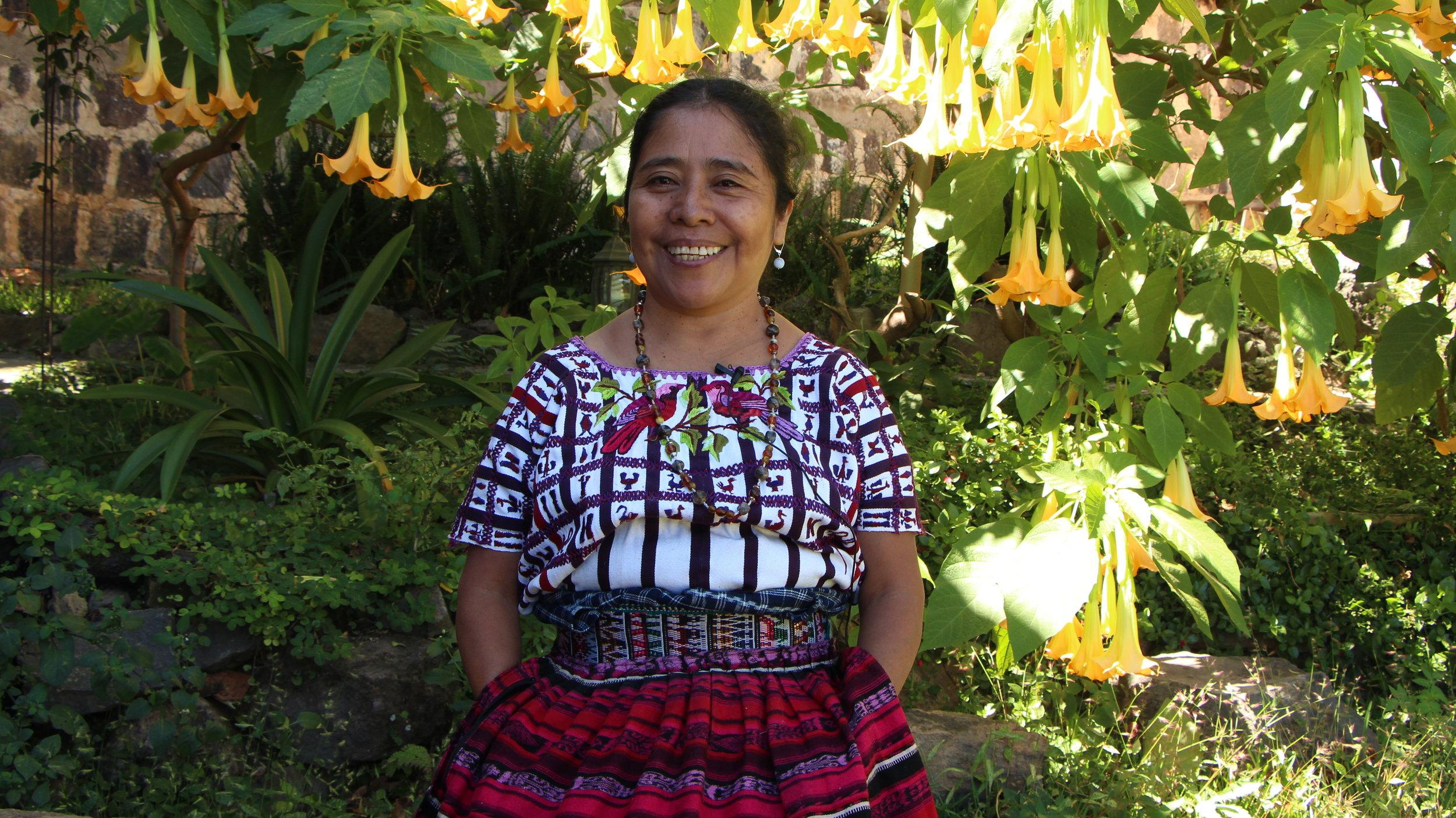 Maria, a Guatemalan Medicine Woman.
