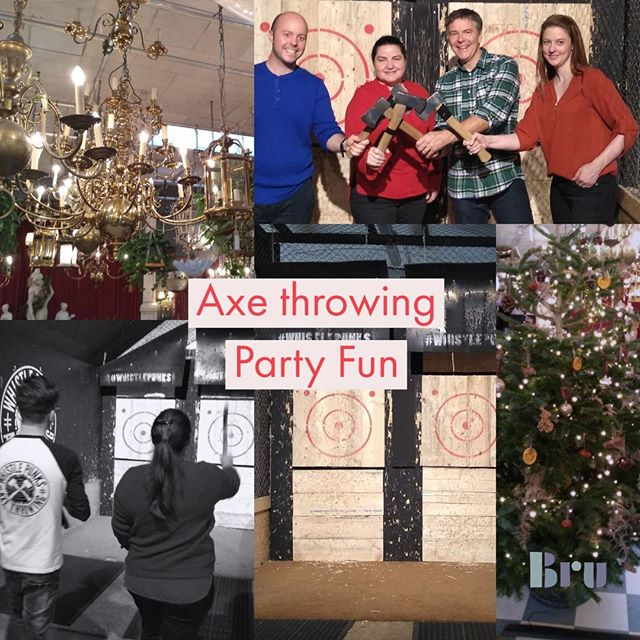 After another exciting year at Bru, we're celebrating with a little Axe throwing. 😎 #xmasparty #staffparty #workparty #christmasparties #festivespirit #christmasdo #christmaspartyseason #feelingfestive #videos #vid #videofilm #videoclipe #productioncompany #filmdirector #showreel #directed #audioproduction #filmindustry