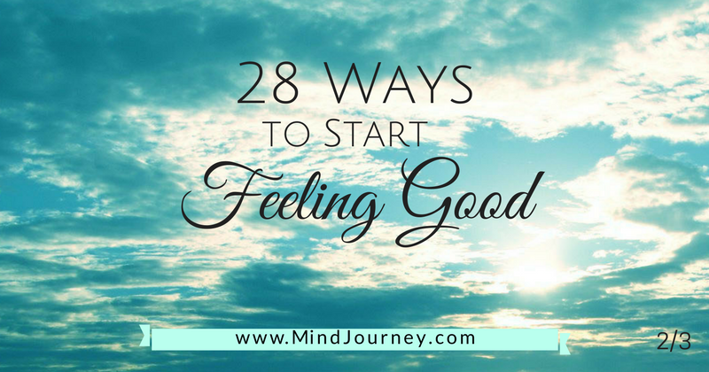 28 ways to start feeling good