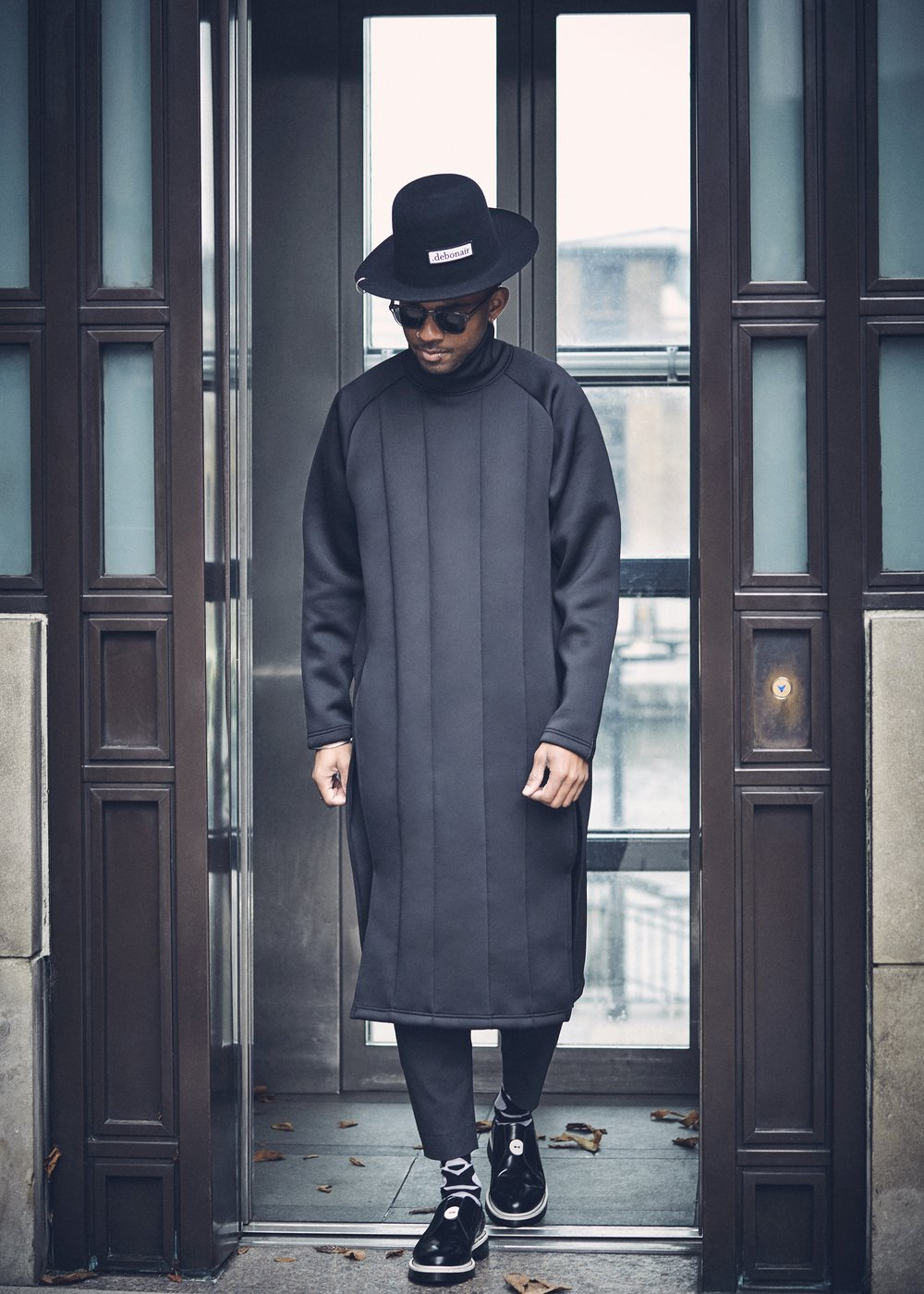 Martel Campbell rocking the Y-3 Spacer Tunic