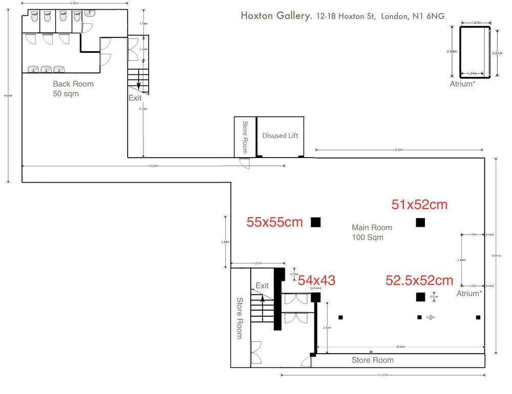 Hoxton Basement Floor Plan
