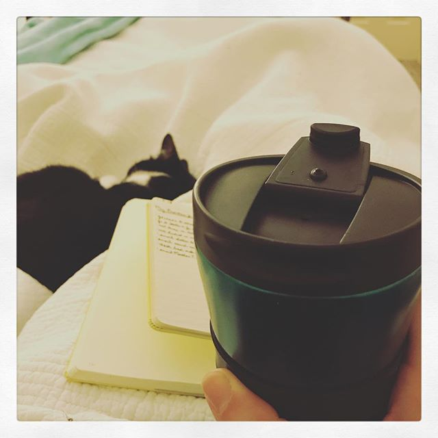 1.9.18 ~ Day 8 of #gentlejanuary2018 • warmth...I've taken to putting my first coffee of the day in my trusty thermos. That way it stays warm no matter what the morning may bring.