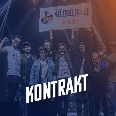 Zdobądź kontrakt - Festiwal Supportów