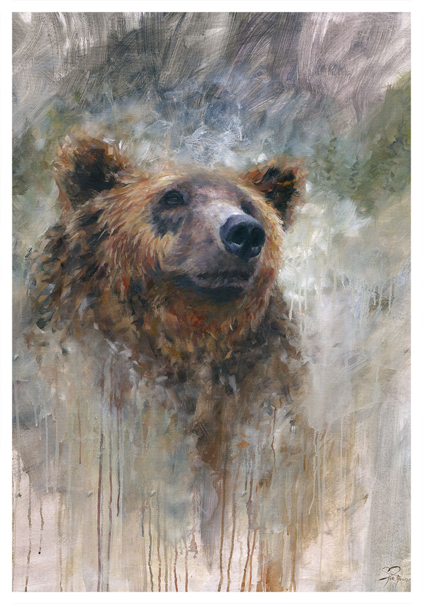 65e Karhun Henki, 100x80 cm