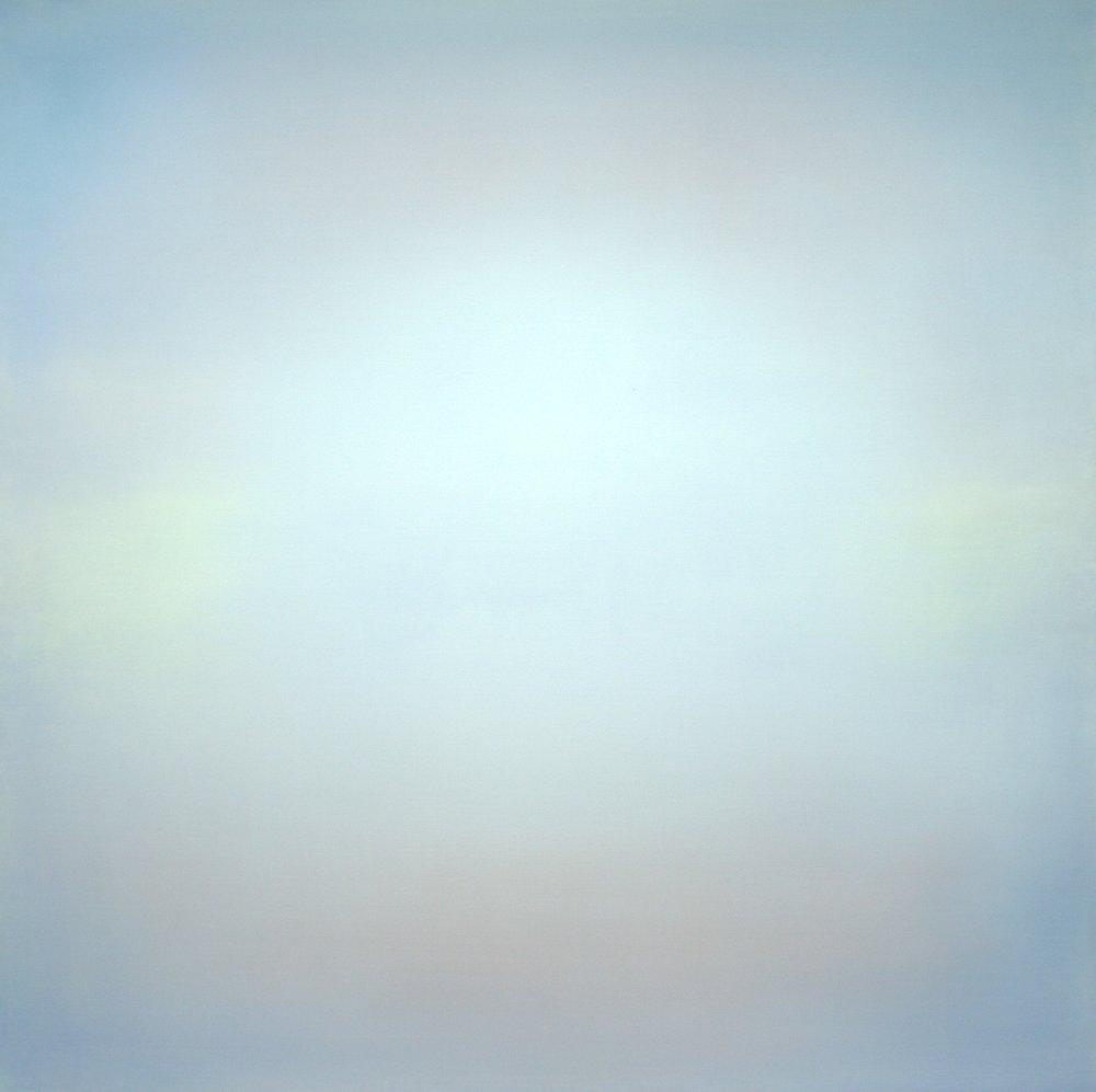 GHO 40884 MORE LIGHT - LIGHT ONLY Acryl auf Leinwand 2016 von Helene B. Grossmann GHO40884 140x140 cm CHF 26000.jpg