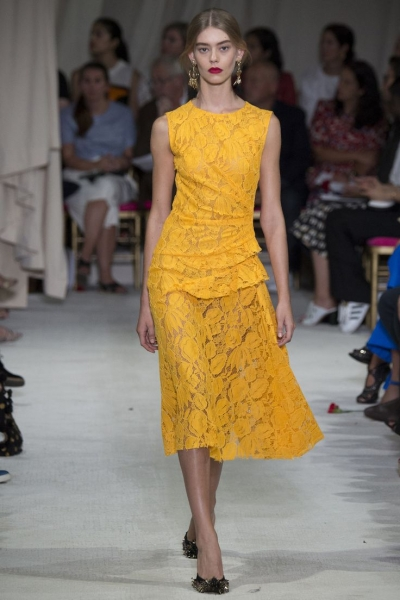 Buttercup- Designer: Oscar de la Renta