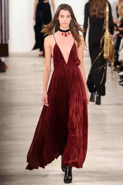 Velvet Dress Ralph Lauren