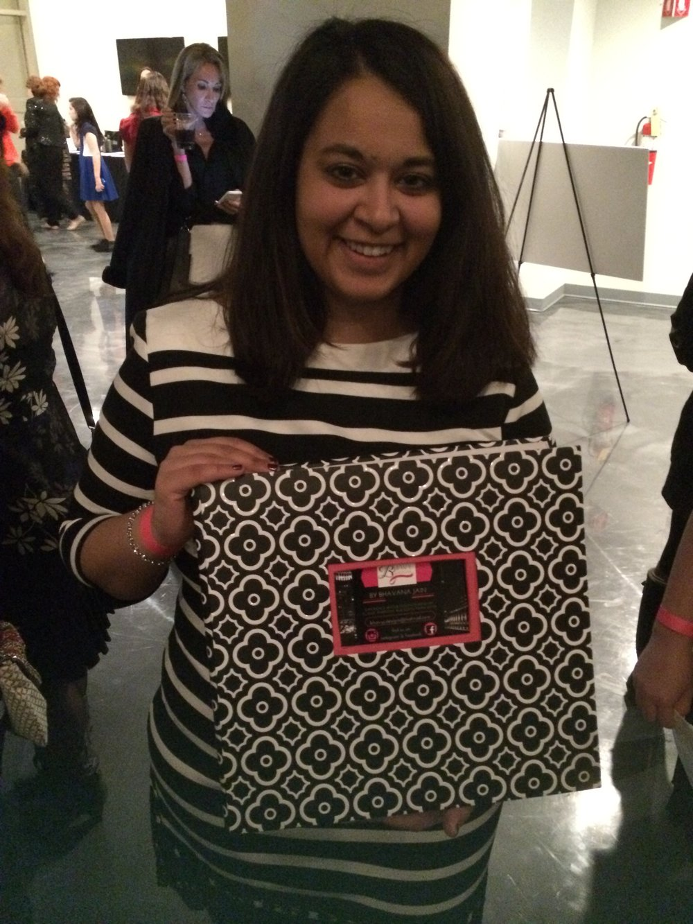 BhavyJ at Chicago Fashion Foundation (CFF) Scholarship Event