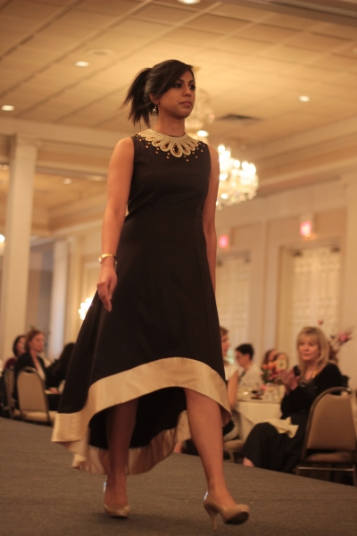 Wild For Fashion Show: BhavyJ Designs- Embellished hi-low dress