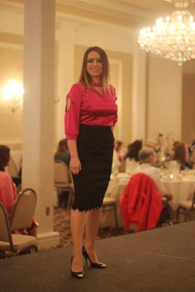 Wild For Fashion Show: BhavyJ Designs: BhavyJ Designs-Embellished silk top with embellished pencil skirt