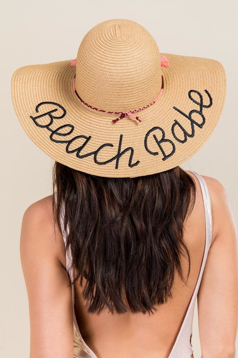 A beach hat is a great accessory to have to protect your face and eyes from the sun.  Francesca's has an adorable line of hats! -