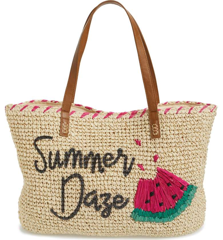 Nordstrom has some awesome beach totes you can't miss out on!  -