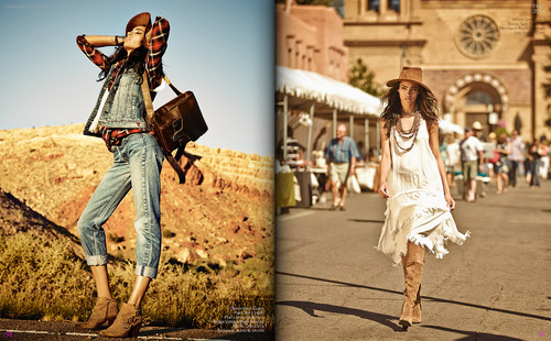 New Mexico's fashion  is influenced by Spanish, Mexican and Native American styles.