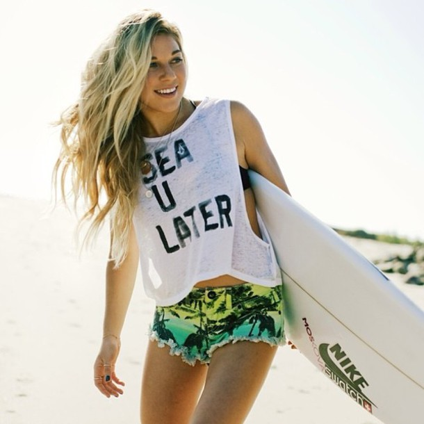 Learn to surf, get nice beach, wavy hair and soak up the sun in Cali.