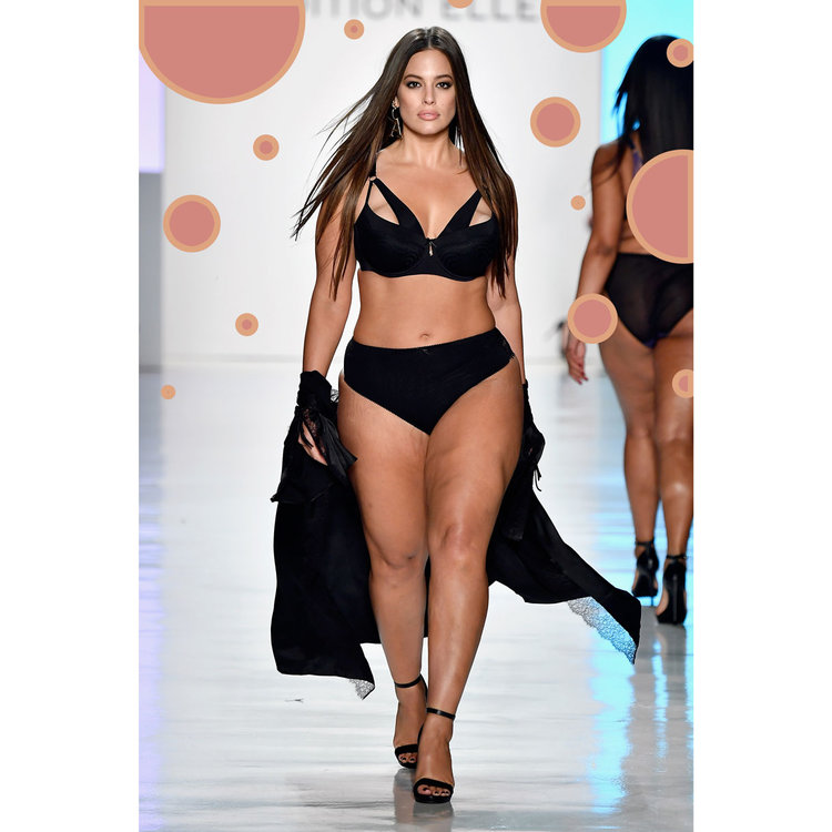 Ashley Graham in Addition Elle