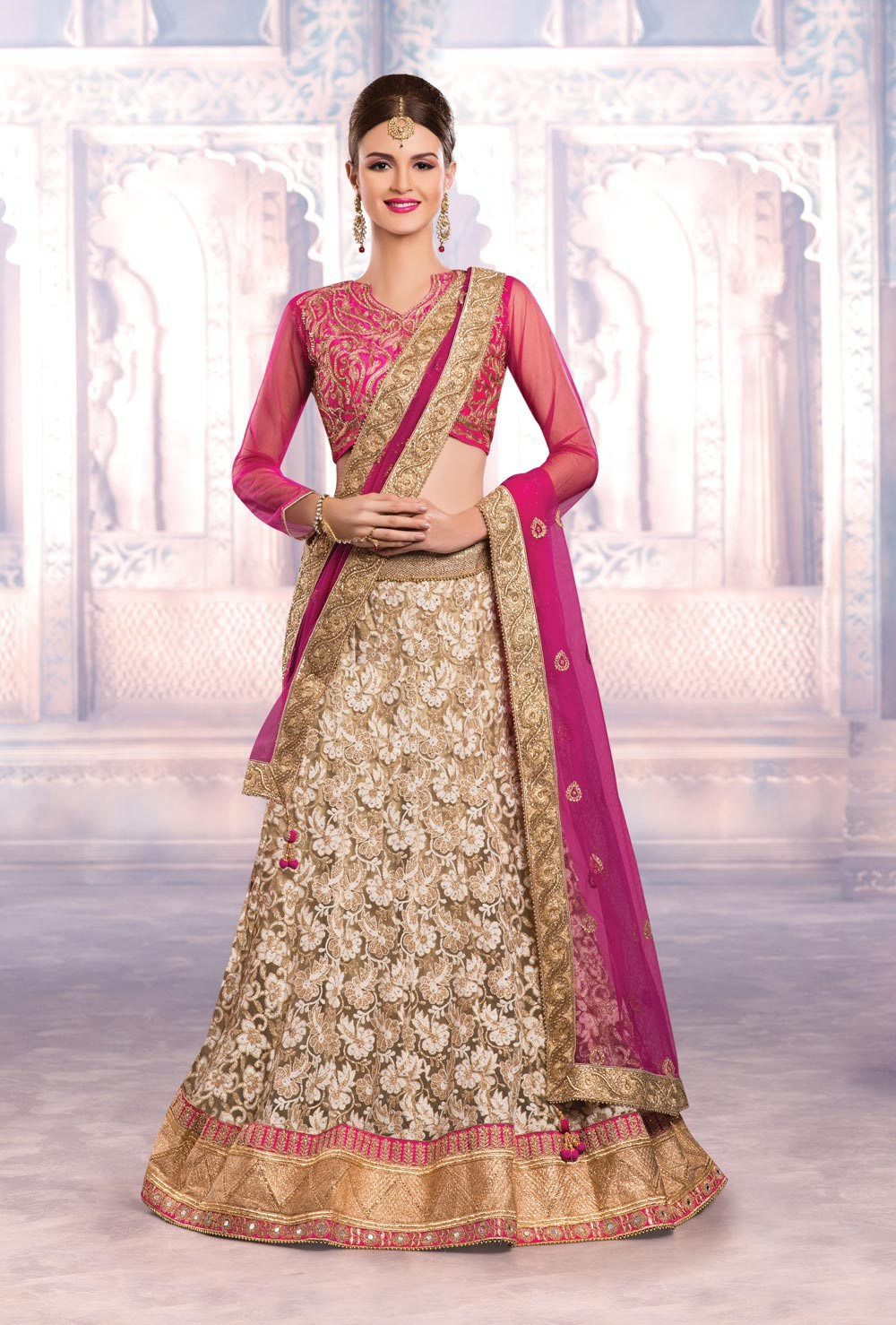 Lehnga- traditional Indian wear