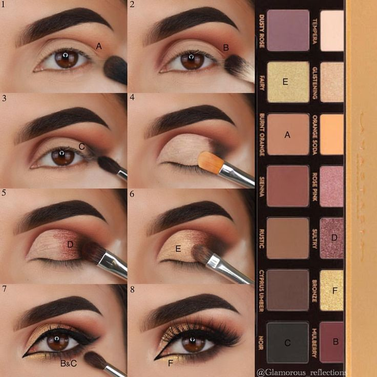Step-by-step to create a beautiful Soft Glam look. $43