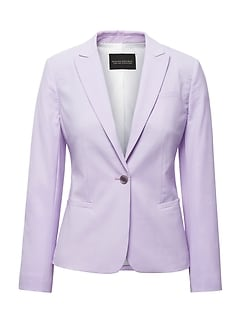 Banana Republic Italian Wool Blend Blazer  $198