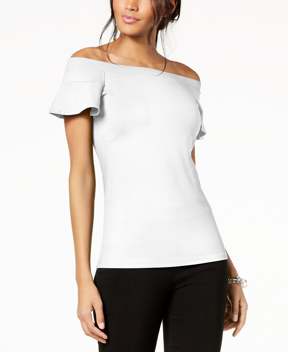 Macy's Off the Shoulder Top  $45